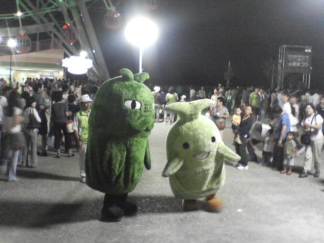 【万博】モリコロパーク夜まつり