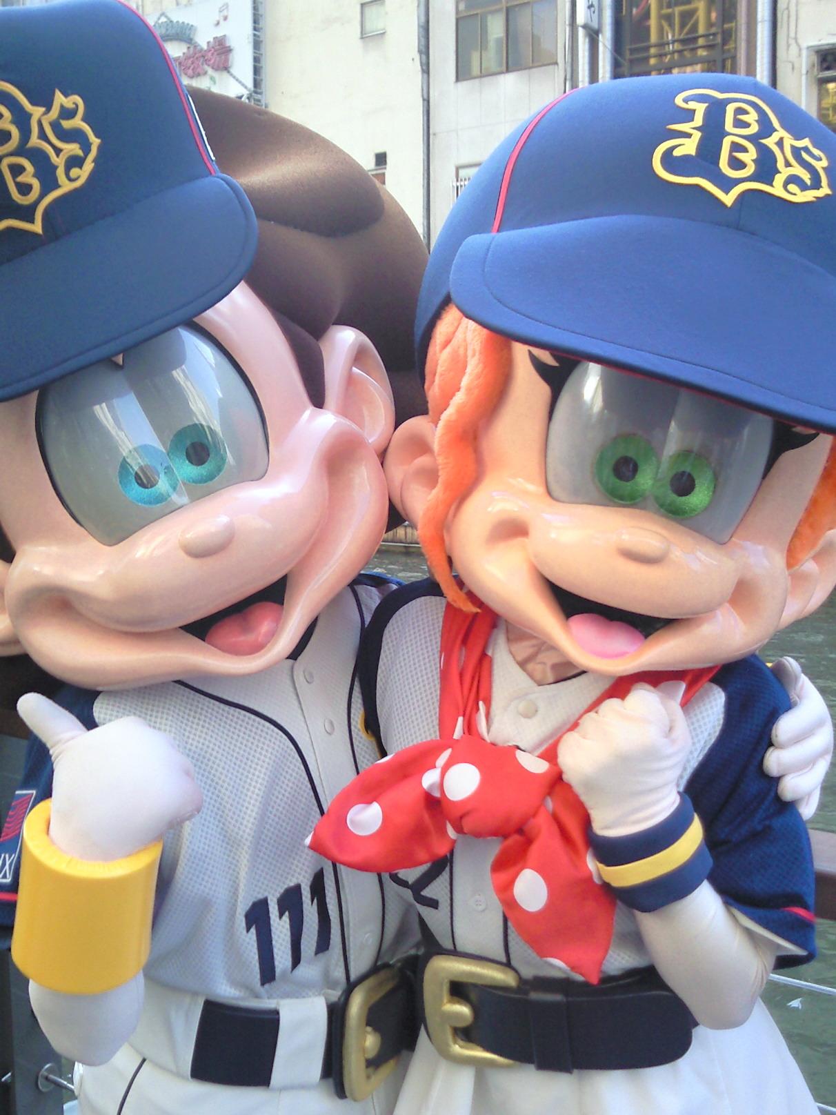 【野球】2008<br />  年初マスコットは?