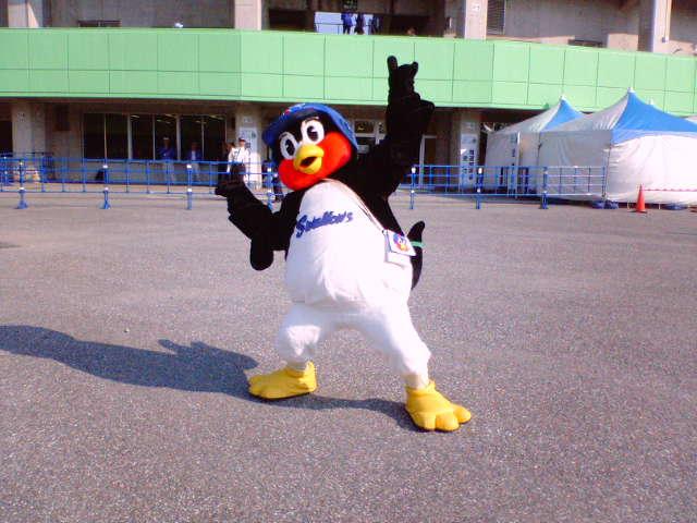 【野球】つば九郎in<br />  豊橋  1
